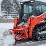 Kubota snow plow