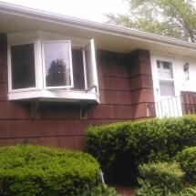 front of house doors, windows