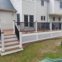 long porch backyard