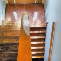 custom woodworking stoneworking steps and tiles